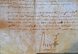 Hommage au comte de Provence en 1528 à Tarascon et Saint-Rémy..