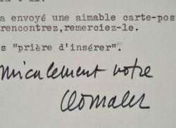 Léo Malet fait la promotion des Poèmes surréalistes d'Alfred Eibel.. Léo Malet (1909-1996) Romancier, auteur de romans policiers, il invente le ...