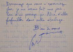 François Cavanna en croisade contre la Réforme.. François Cavanna (1923-2014) Ecrivain, dessinateur et humoriste, prix Interallié.