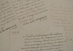 Le duc de La Vauguyon reçoit ses revenus de ses terres bretonnes.. Antoine de Quélen de Stuer de Caussade La Vauguyon (duc de) (1709-1776) Lieutenant ...
