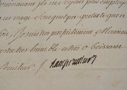 L'incendie de la citadelle d'Arras circonscrit à temps.. Nicolas Prosper Angervilliers (Bauyn d') (1675-1740) Intendant du Dauphiné, puis d'Alsace et ...