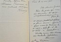 Le peintre de fleurs François Rivoire donne le prix de ses oeuvres.. François Rivoire (1842-1919) Peintre, aquarelliste et pastelliste, il se ...