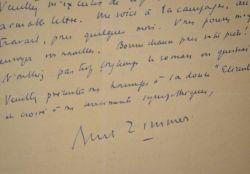 Deux lettres du scénaristes et dramaturge Bernard Zimmer.. Bernard Zimmer (1893-1964) Dramaturge, il a souvent collaboré avec Charles Dullin et Louis ...