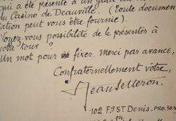 Le poète Jean Selleron propose l'un de ses textes.. Jean Selleron (1891-1987) Poète, ami d'Alphonse Allais, il publie de nombreux recueils, souvent ...