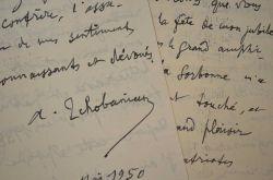 L'écrivain arménien Archag Tchobanian rend hommage aux écrivains français.. Archag Tchobanian (1872-1954) Écrivain, poète, traducteur arménien, il ...