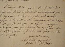 L'abbé réformateur Ferdinand-François Chatel tente de rééditer de son almanach.. Ferdinand-François Chatel (1795-1853) prélat démocrate et libéral, il ...