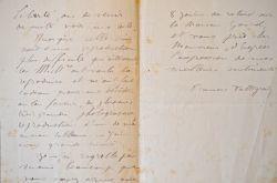 Le peintre Francis Tattegrain sous contrat avec la Maison Goupil.. Francis Tattegrain (1852-1915) Peintre. Élève à l'Académie Julian, il expose ...
