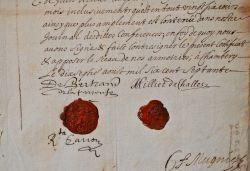 Mission de reconnaissance des frontières de la Savoie et du Dauphiné en 1670..