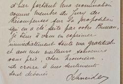 Eugène Schneider fait visiter ses usines du Creusot.. Eugène II Schneider (1868-1942) Industriel, maître des forges, il succède à son père Henri comme ...