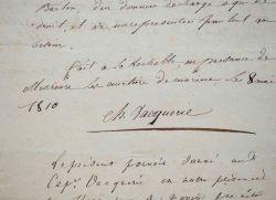 Le navire de Charles-Isidore et Pierre Vacquerie brûlé par l'ennemi.. Pierre Vacquerie (1781-1843) Capitaine au long cours, il se noya au cours de ce ...