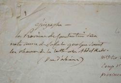 Rétablissement de la vérité sur l'administration de la province de Constantine en 1840..