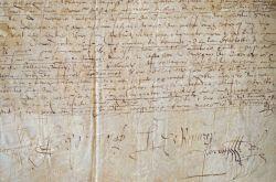 Un don d'Hercule de Rouvroy à Françoise de Clèves..