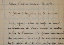 Carnet manuscrit de pensées et d'aphorismes de Jacques Deval. Jacques Deval (1890-1972) Dramaturge, scénariste et réalisateur.