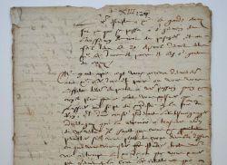 Guez de Balzac envoie une pique contre le chancellier Guillaume de Vair..