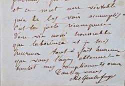 La joie du zoologiste Armand Quatrefages de Bréau.. Armand Quatrefages de Bréau (de) (1810-1892) Zoologiste, biologiste et anthropologue, professeur ...