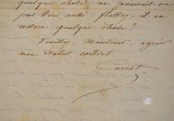 Hippolyte Carnot remercie Le Gaulois après sa défaite contre Rochefort.. Hippolyte Carnot (1801-1888) Fils du Grand Carnot, il fut de nombreuses fois ...