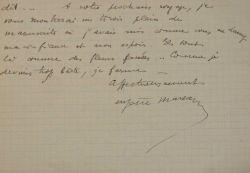 Pour Eugène Marsan, la vie d'écrivain est une perpétuelle déception.. Eugène Marsan (1882-1936) Ecrivain, journaliste et critique littéraire, ...