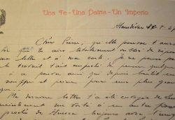 Lettre d'un patriote carliste espagnol au service de Franco..