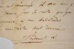 """Frédérick Lemaitre refuse une pièce.. Antoine Louis Prosper dit Frédérick Lemaître (1800-1876) Acteur, surnommé """"le Talma du Boulevard""""."""