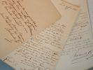 Trois lettres de Louis Nicolas Bescherelle.. Louis Nicolas Bescherelle (1802-1884) Grammairien et lexicographe, auteur de la Grammaire Nationale et du ...