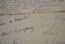 Consuelo de Saint-Exupéry paniquée avant son exposition de Bruxelles.. Consuelo Saint-Exupéry (de) (1901-1979) Peintre et sculptrice, muse et épouse ...