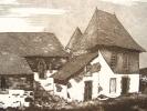 Cantal. Gravure de La Salvetat, près d'Aurillac..