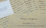 Roland-Manuel présente un concert Roussel-Stravinski.. Roland-Manuel (1891-1966) Musicologue et compositeur, disciple, ami et biographe de Maurice ...