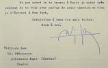 Wilfredo Lam envisage une publication aux Etats-Unis.. Wifredo Lam (1902-1982) Peintre surréaliste cubain.