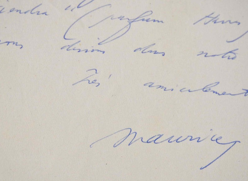 Maurice Schumann contraint au silence.. Maurice Schumann (1911-1998) Ministre des Affaires étrangères (1969-1973), compagnon de la Libération, membre ...