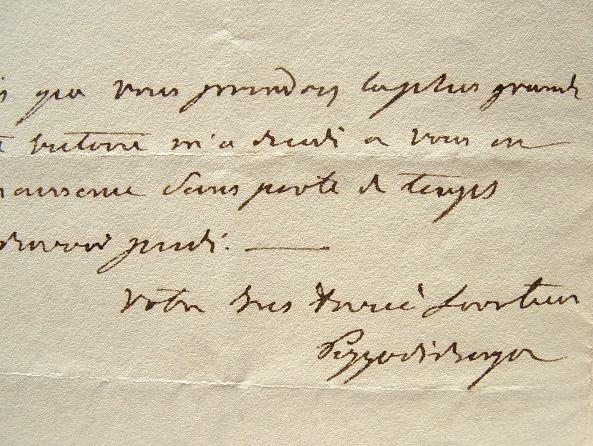 Pozzo di Borgo annonce la défaite du Grand Vizir.. Charles André Pozzo di Borgo (1764-1842) Homme politique et diplomate corse, irréductible ...