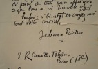Jehan Rictus donne une conférence sur Léon Bloy. Jehan Rictus (1867-1933) Poète et écrivain, célèbre pour ses oeuvres composées dans la langue du ...