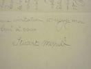 Stuart Merrill collaborateur de Robert de Souza à l'Almanach des Poètes. Stuart Merrill (1863-1915) poète symboliste américain d'expression ...