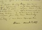 Henri Vandeputte demande des vers de Robert de Souza. Henri Vandeputte (1877-1952) écrivain belge francophe principalement connu pour ses poésies ...