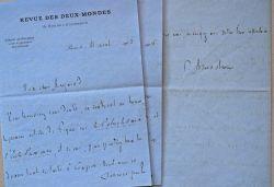 5 lettres de Ferdinand Brunetière sur la Revue des Deux-Mondes.. Ferdinand Brunetière (1849-1906) Critique littéraire, antidreyfusard, directeur de la ...
