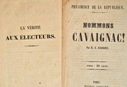 Ensemble de tracts et imprimés sur la Révolution de 1848..