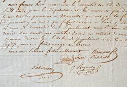 Intéressante lettre sur les débuts de l'insurrection fédéraliste à Marseille..