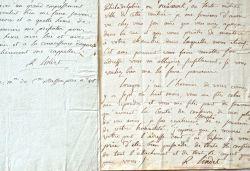 Deux lettres du conventionnel Robert Lindet au banquier Perregaux.. Robert Lindet (1743-1823) Député du clergé aux Etats généraux, évêque ...