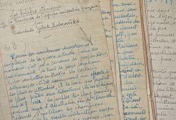 Manuscrit d'une étude sur les scarifications pratiquées en Afrique Noire..