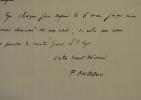 Une invitation de Pierre Mac Orlan à Saint-Cyr-sur-Morin.. Pierre Mac Orlan (1882-1970) Poète et romancier, auteur de Quai des brumes. Membre de ...