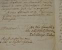 La Chesnaye-Desbois complète la nouvelle édition de son Dictionnaire de la Noblesse.. François Alexandre La Chesnaye-Desbois (de) (1699-1784) Ecrivain ...