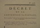 La Convention accorde 100.000 livres au Musée de la République (Louvre)..