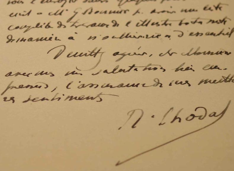 Robert Chodat, botaniste consciencieux.. Robert Chodat (1865-1934) Botaniste et voyageur suisse, il explora le Paraguay.
