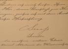 Le géologue autrichien Eduard Suess accepte un échange de revue scientifiques.. Eduard Suess (1831-1914) Géologue autrichien, spécialiste des Alpes, ...