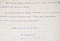 Max-Pol Fouchet, indigné, demande la publication d'une réponse.. Max Pol Fouchet (1913-1980) Poète, romancier, ethnologue et voyageur.