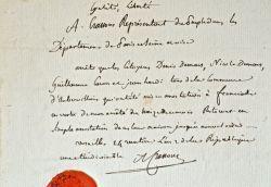 Le conventionnel Crassous fait arrêter quatre citoyens d'Aubervilliers.. Augustin Crassous (1745-1829) Conventionnel montagnard, député de la ...