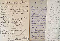 Correspondance de 11 lettres d'Arman de Caillavet à Paul Gallimard.. Gaston Caillavet (Arman de) (1869-1915) Auteur dramatique, proche ami de Proust ...
