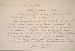 Xavier Vallat se réfugie à l'ombre de son platane.. Xavier Vallat (1891-1972) Directeur du Commissariat général aux questions juives à sa création, en ...