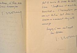 Jacques Isorni publie ses souvenirs sur Pétain.. Jacques Isorni (1911-1995) Avocat, défenseur de Pétain et Brasillach.
