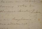 L'académicien Chabanon prend pitié d'une pauvre femme.. Michel Paul Guy Chabanon (de) (1730-1792) Littérateur, poète dramatique et musicien, membre de ...