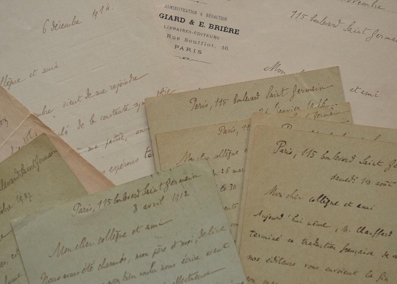 10 lettres du sociologue René Worms à son confrère argentin Antonio Dellepiane.. René Worms (1869-1926) Sociologue. Philosophe de formation, il a ...